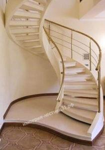 Лестница монолитная